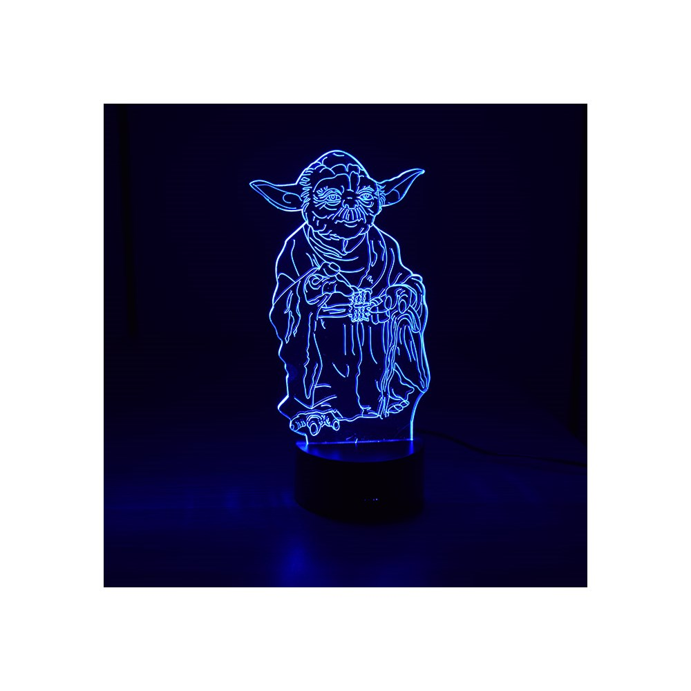 Luminária de Led - Mestre Yoda Star Wars