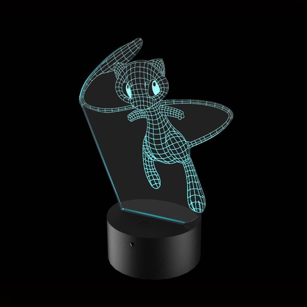 Luminária de Led - Mew Pokémon