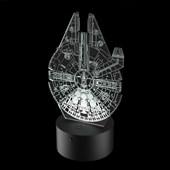 Produto Luminária de Led - Millennium Falcon Star Wars