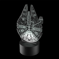 Luminária de Led - Millennium Falcon Star Wars