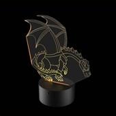 Produto Luminária de Led - Minecraft Ender Dragon