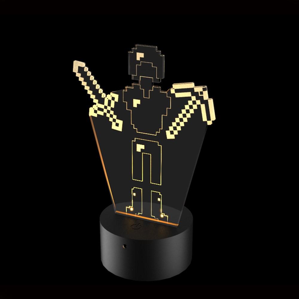 Luminária de Led - Minecraft Set