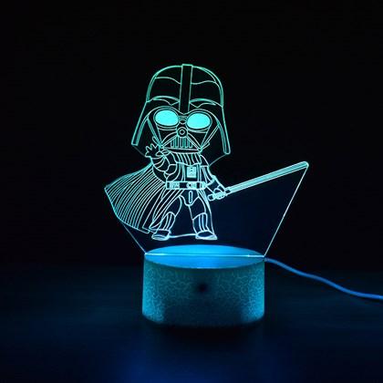 Luminária de Led - Miniatura Darth Vader Star Wars