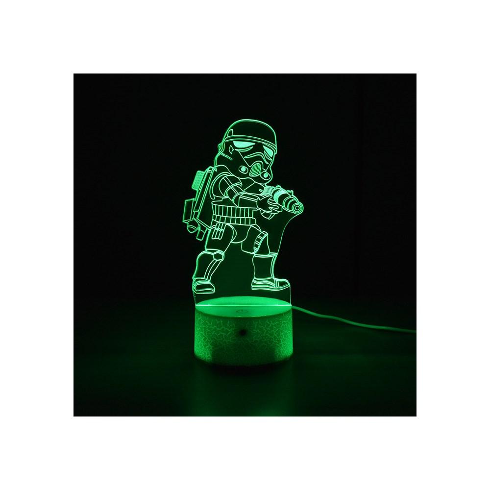 Luminária de Led - Miniatura Stormtrooper Star Wars