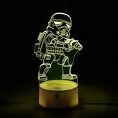 Produto Luminária de Led - Miniatura Stormtrooper Star Wars