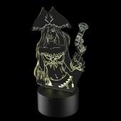 Produto Luminária de Led - Miss Furtune League Of Legends