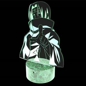 Luminária de Led - Modelo Itachi Uchiha Naruto