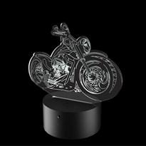 Luminária de Led - Moto Custom