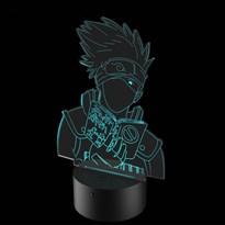 Luminária de Led - Naruto Kakashi Perfil