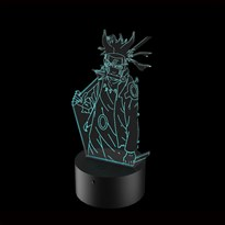 Luminária de Led - Naruto Ninja