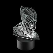 Produto Luminária de Led - Pantera Negra