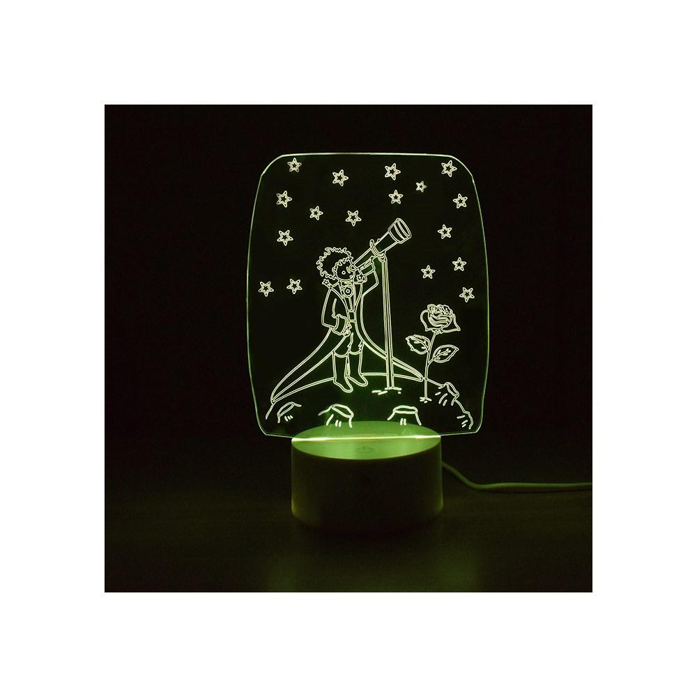 Luminária de Led - Pequeno Príncipe