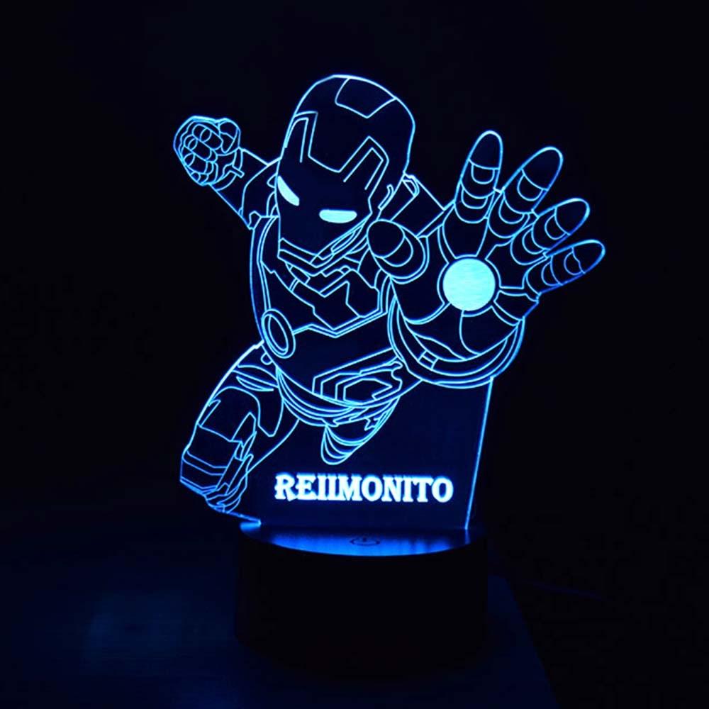 Luminária de Led - Personalizada com Nome