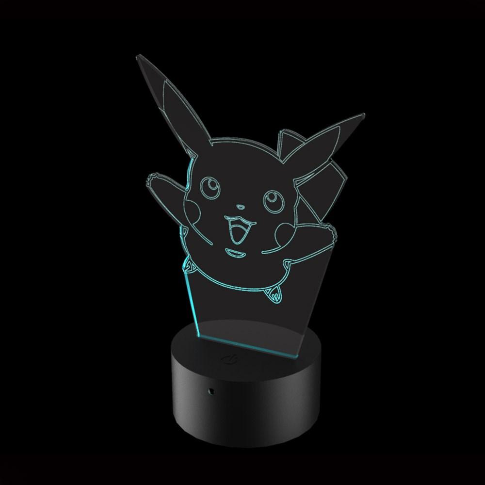 Luminária de Led - Pikachu Pokémon