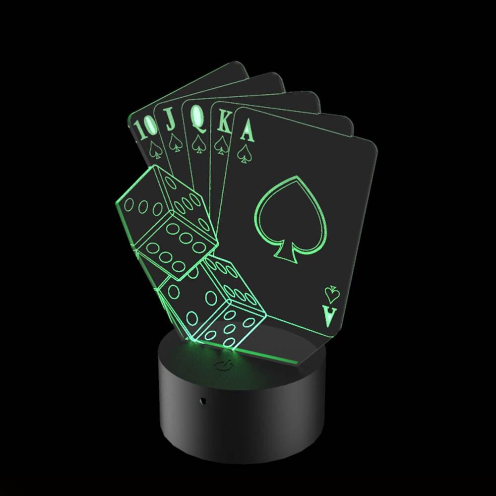 Luminária de Led - Poker