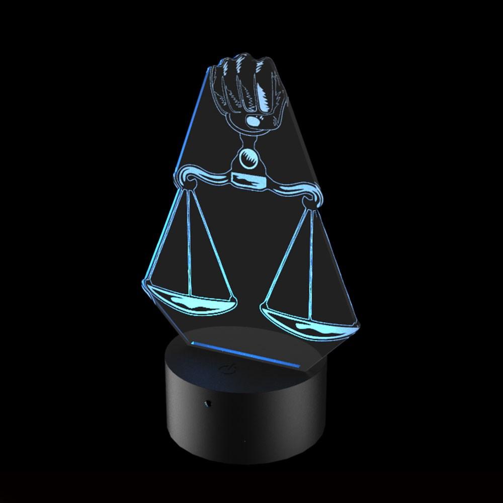 Luminária de Led - Profissão Direito