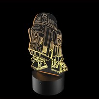 Luminária de Led - RD-2D Star Wars