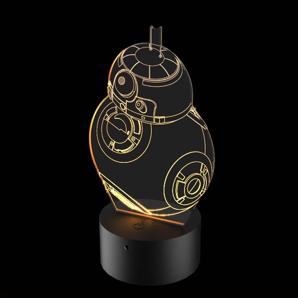 Luminária de Led - Robo Sphero BB-8 Star Wars