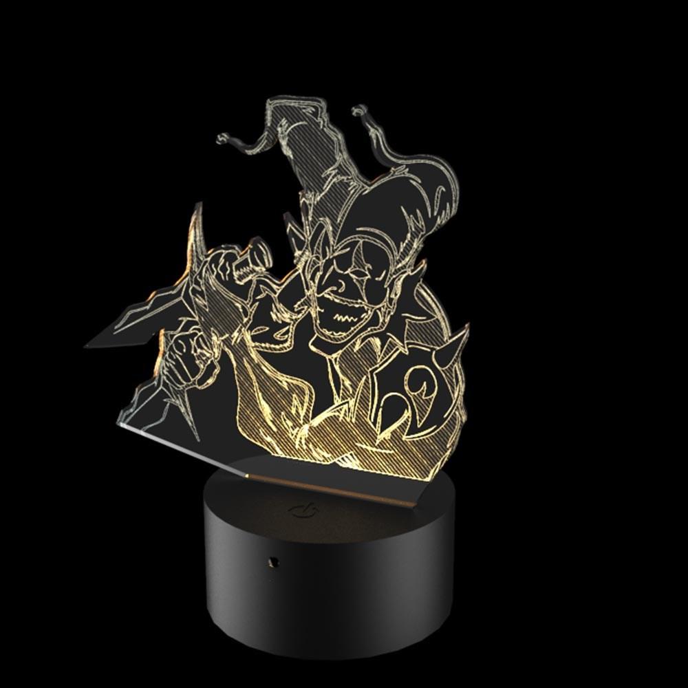 Luminária de Led - Shaco League Of Legends