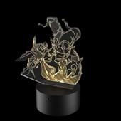 Produto Luminária de Led - Shaco League Of Legends