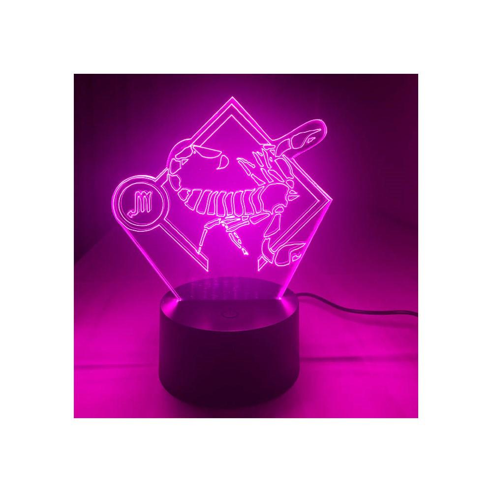 Luminária de Led - Signo Escorpião