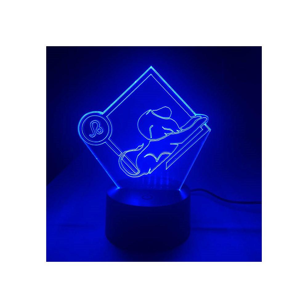 Luminária de Led - Signo Leão
