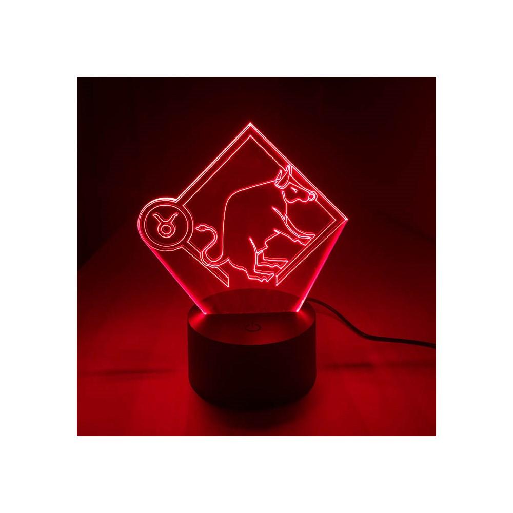 Luminária de Led - Signo Touro