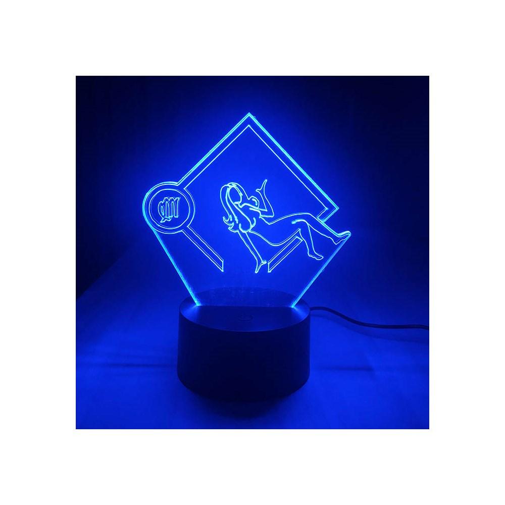 Luminária de Led - Signo Virgem