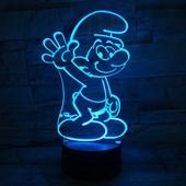 Produto Luminária de Led - Smurf