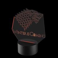 Luminária de Led - Stark Game Of Thrones