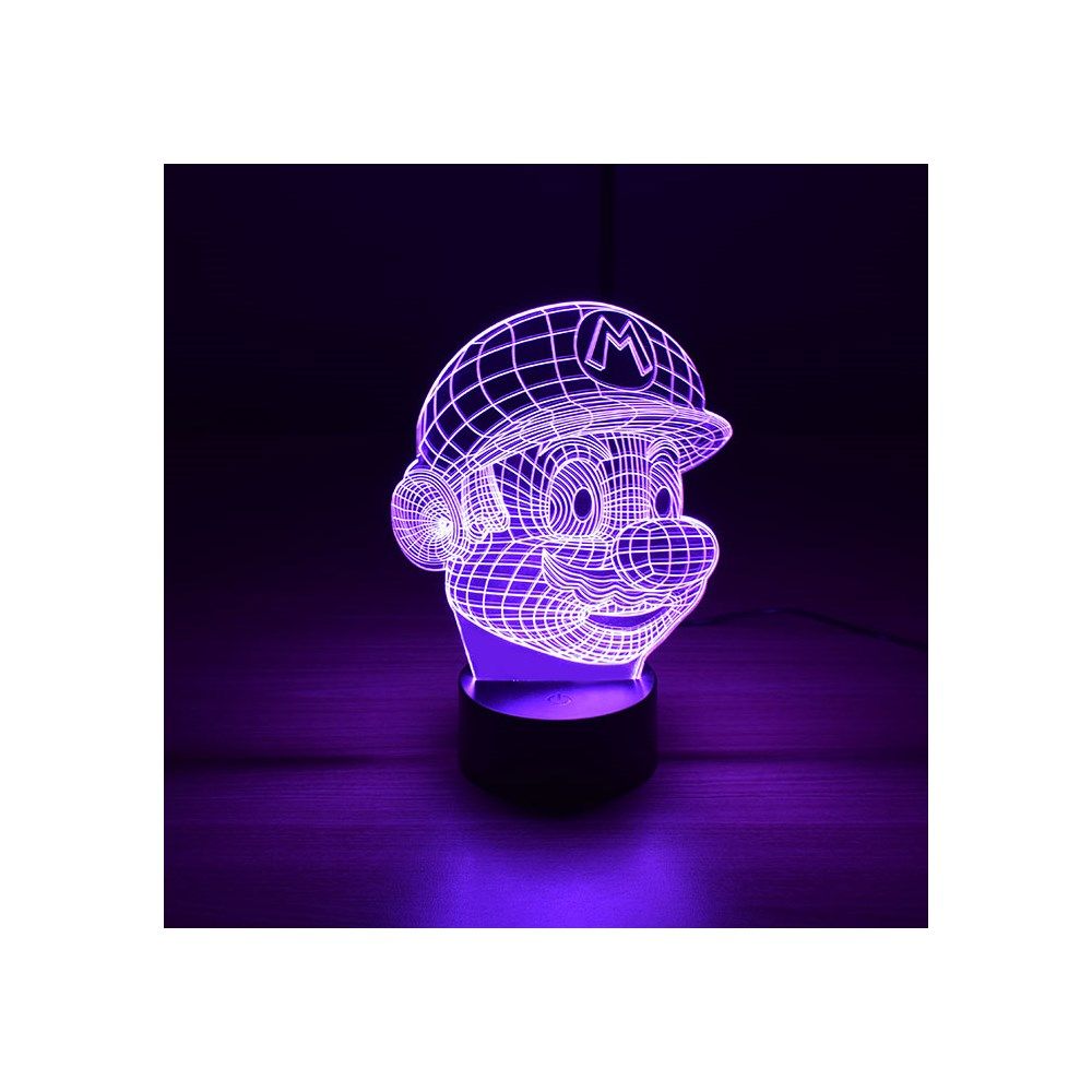 Luminária de Led - Super Mario