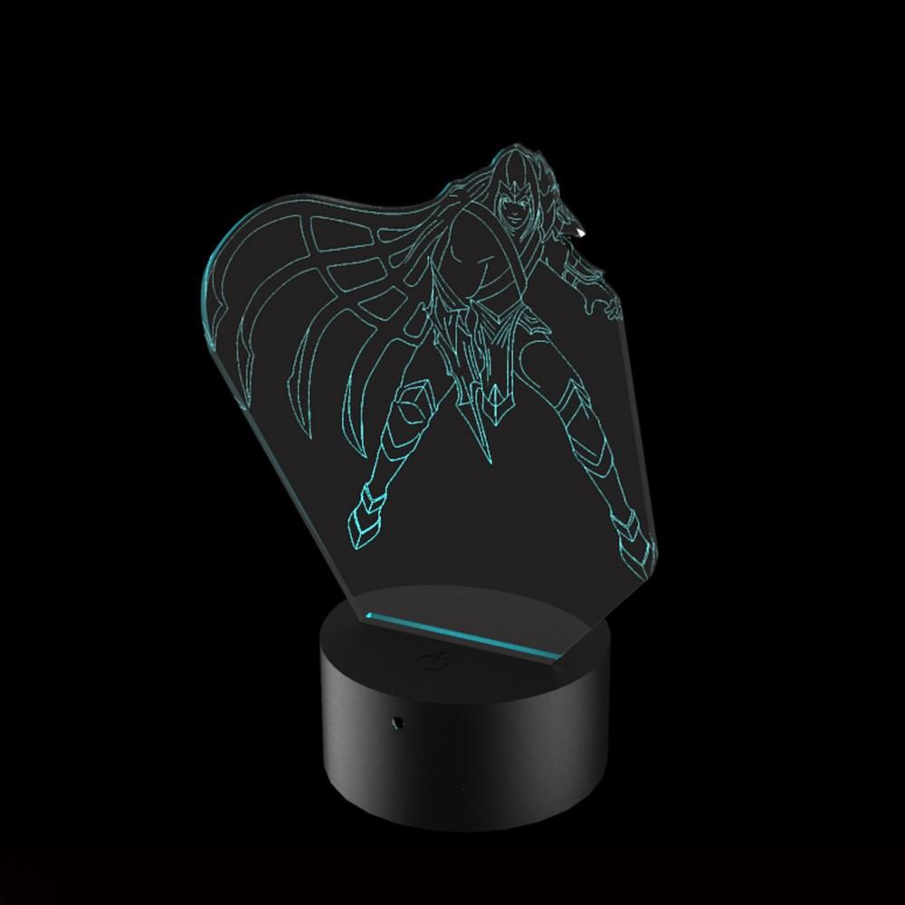 Luminária de Led - Talon League of Legends