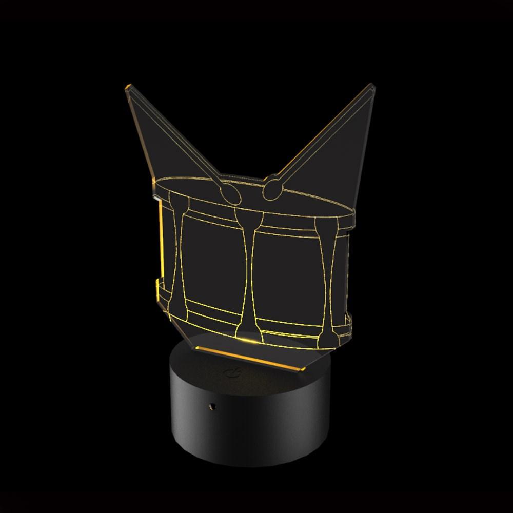 Luminária de Led - Tambor