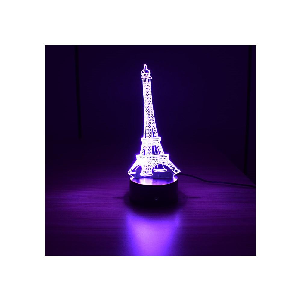 Luminária de Led - Torre Eiffel