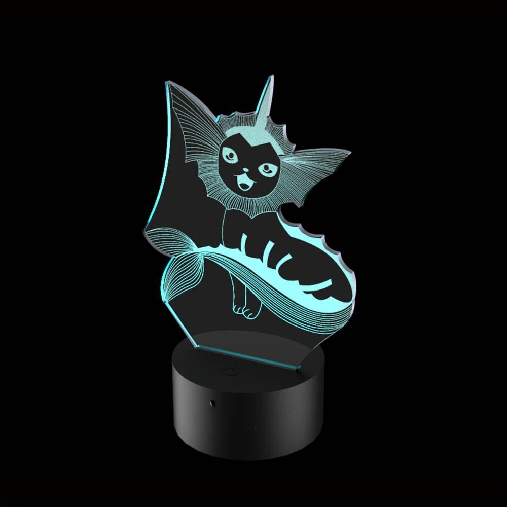 Luminária de Led - Vaporeon Pokémon
