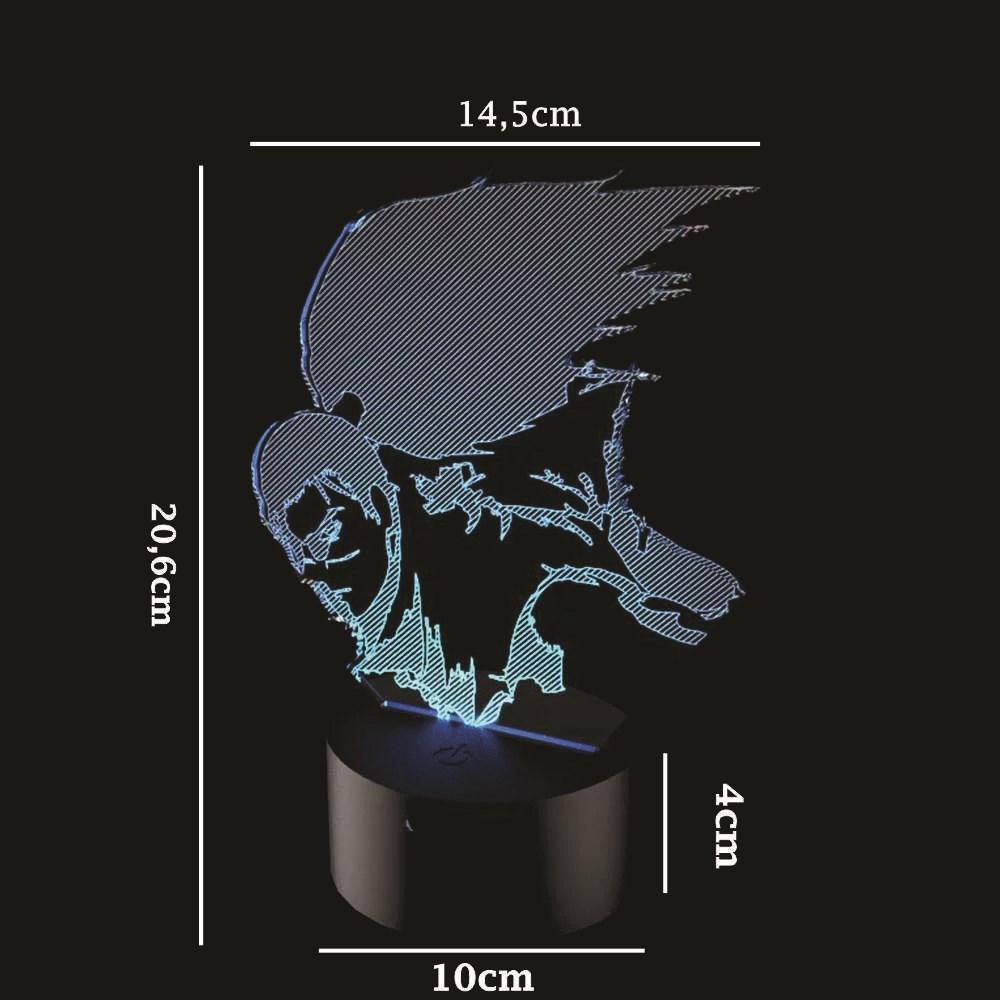Luminária de Led - Yasuo League Of Legends