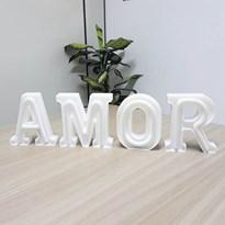 Luminária Letras de LED -  Amor