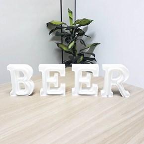 Luminária Letras de LED - Beer