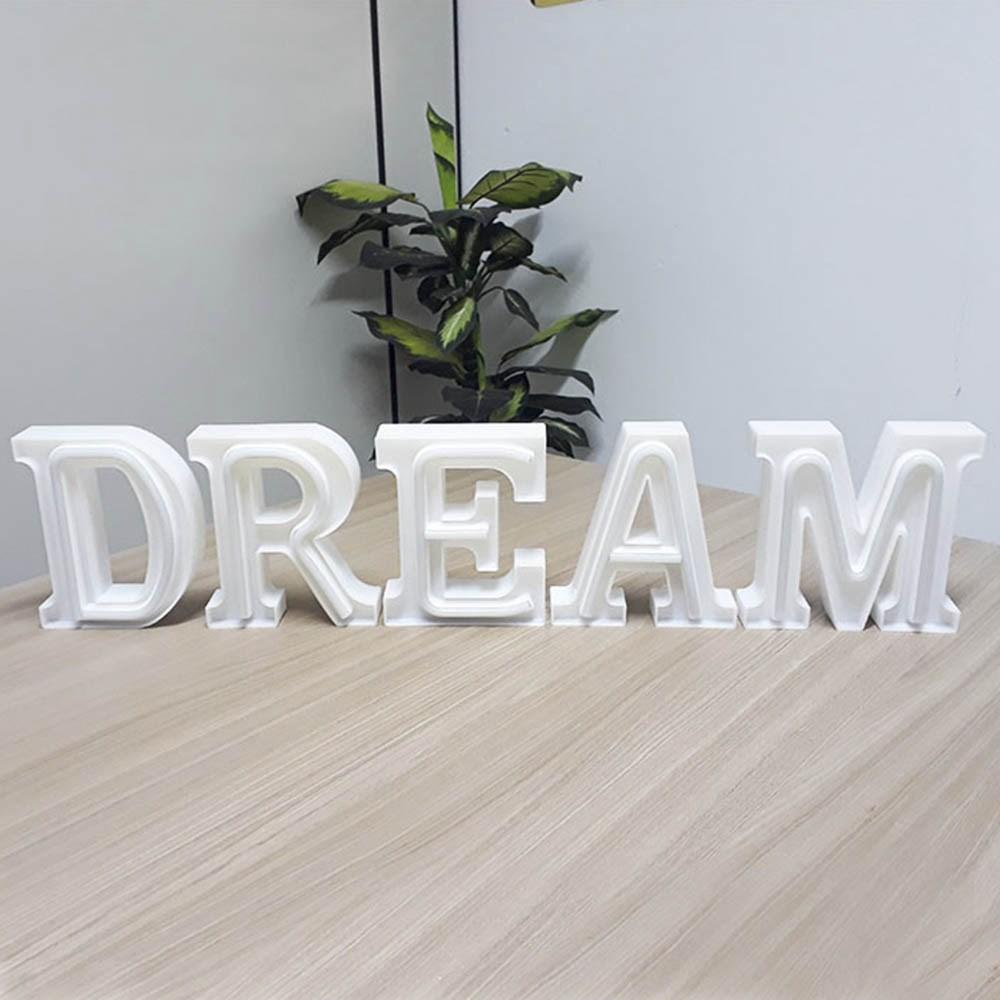 Luminária Letras de LED -  Dream
