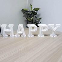Luminária Letras de LED -  Happy