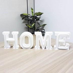 Luminária Letras de LED -  Home