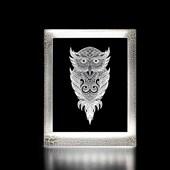 Produto Moldura Decorativa Led - Coruja
