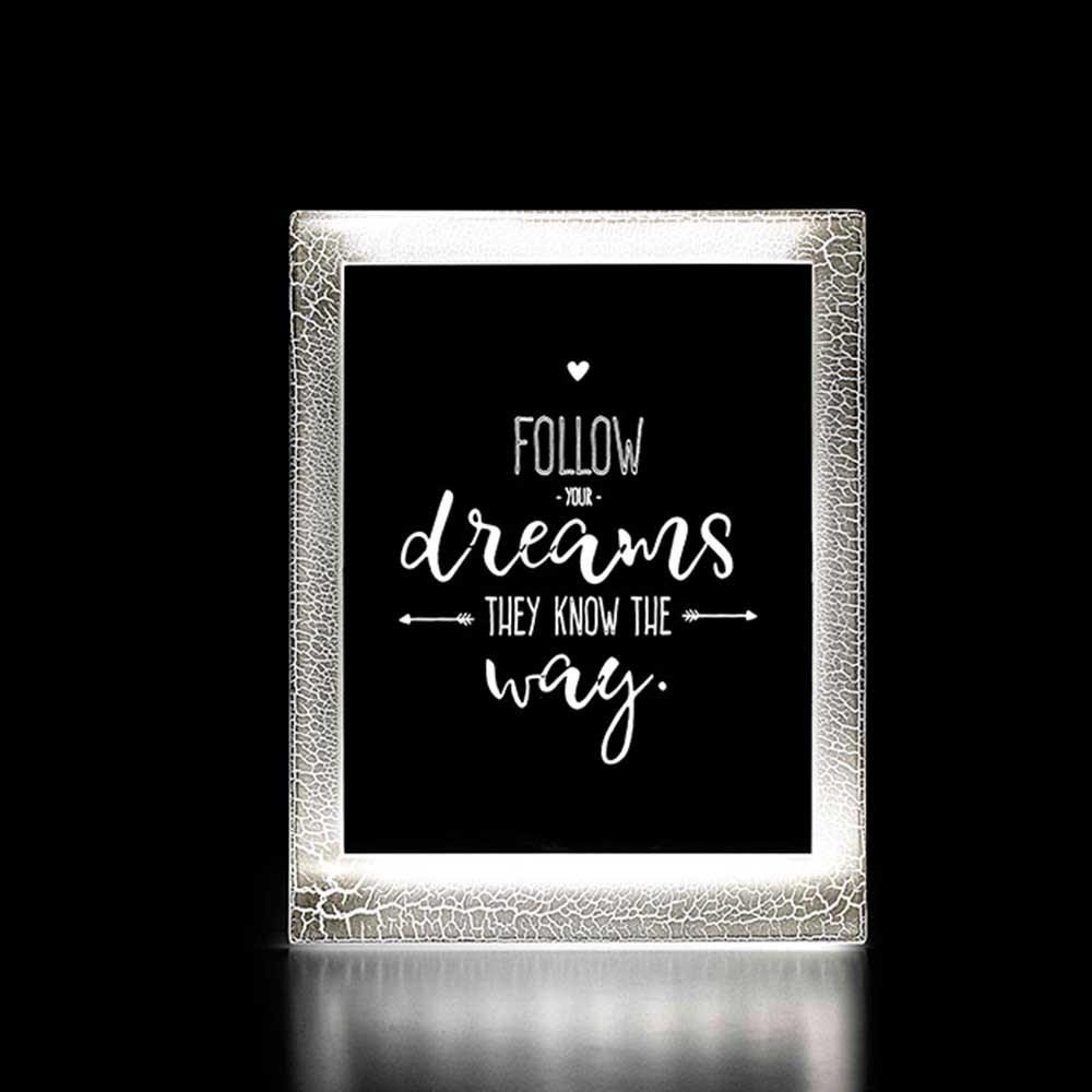Moldura Decorativa Led - Dreams