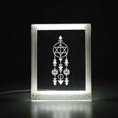 Produto Moldura Decorativa Led - Filtro dos Sonhos Geométrico