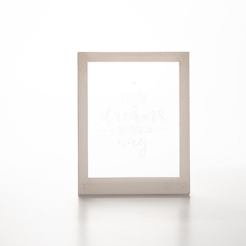 Moldura Decorativa Led - Palavras