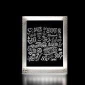 Produto Moldura Decorativa Led - Palavras
