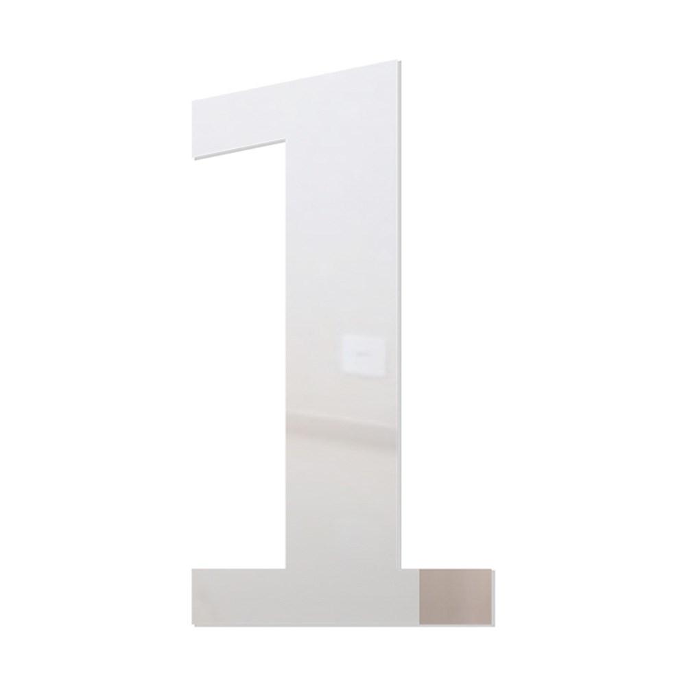Número em Acrílico Espelhado - 1