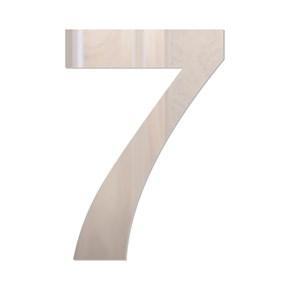 Número em Acrílico Espelhado - 7