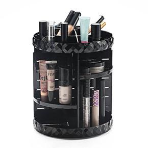 Organizador Giratório Black para Maquiagem e Cosméticos Diamond