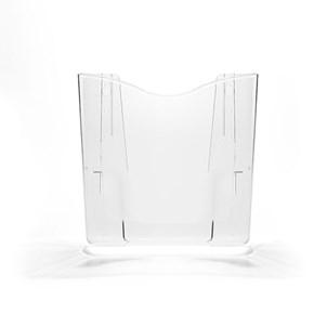 Porta Folheto de Parede com Bolsa A4 Vertical (21x30cm)